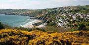 Views over Laxey Bay
