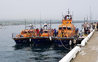 Port St Mary Lifeboat day