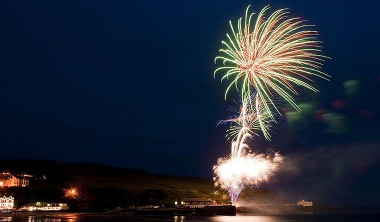 Port Erin Firework Display