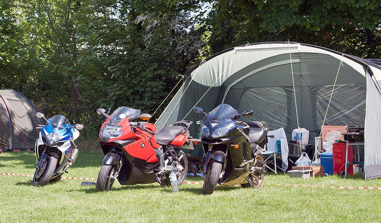 Castletown Campsite featuring Isle of Man TT Boutique Camping
