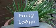 Fairy Lodge Sign