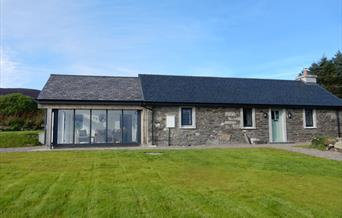 Original Manx cottage with stunning sunroom