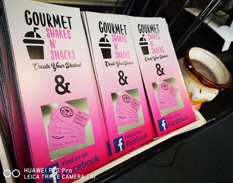 Gourmet Shakes and Snacks