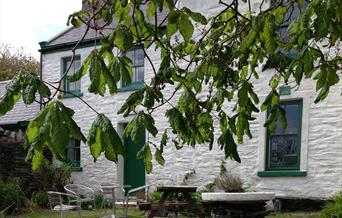 Our former farmhouse on the Calf of Man offers a peaceful break in hostel style accommodation.