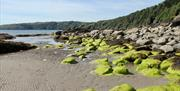 Laxey Beach - a beautiful environment to explore and relax.