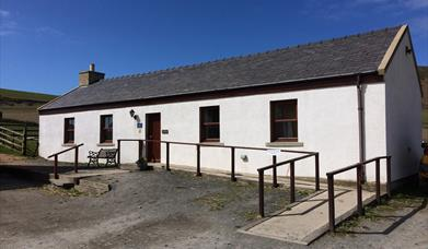 Our two bedroom cottage, The Byre, on the west coast of the Isle of Man
