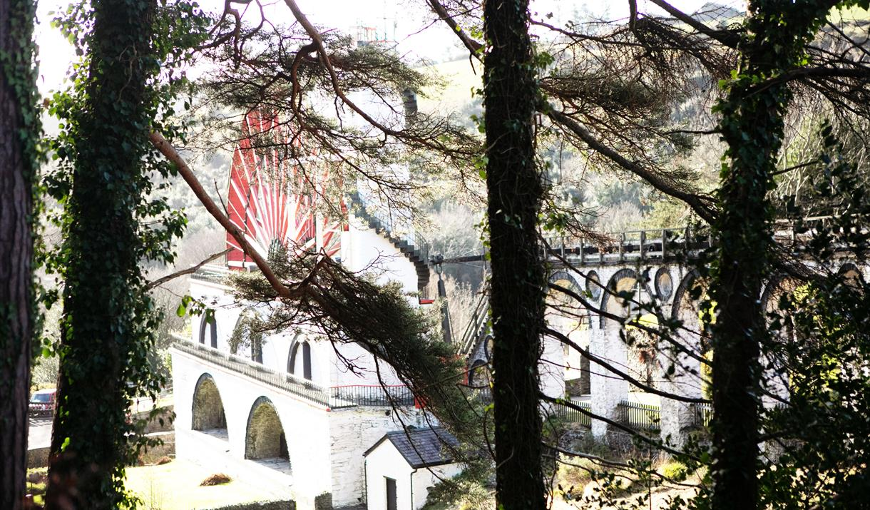 Great Laxey Wheel and Mine Trail