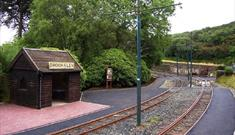 Manx Electric Railway - Dhoon Glen Station