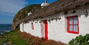 Niarbyl thatched cottage