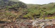 Niarbyl geological fault line
