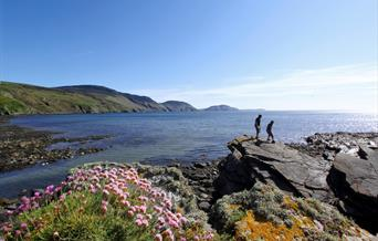 Walking at Niarbyl