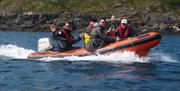 RYA Powerboat Level 2 courses, Port Erin, Isle of Man.