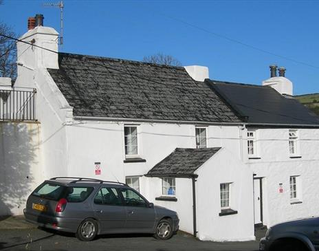 Front view of Rose Cottage
