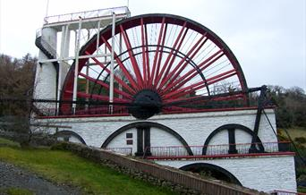 We are 1.5 miles from the famous Laxey Wheel