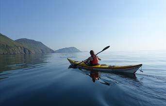 Sea Kayaking around the Isle of Man coast