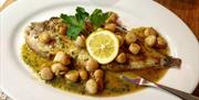 Dover Sole with Manx Queenies