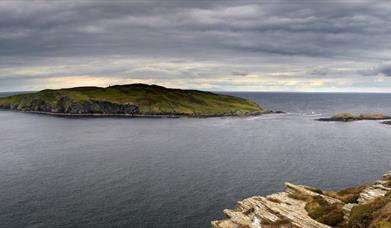 The Sound overlooking the Calf of Man