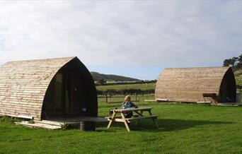 Knockaloe Beg Farm - Wigwams