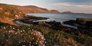 Niarbyl Bay autumn light